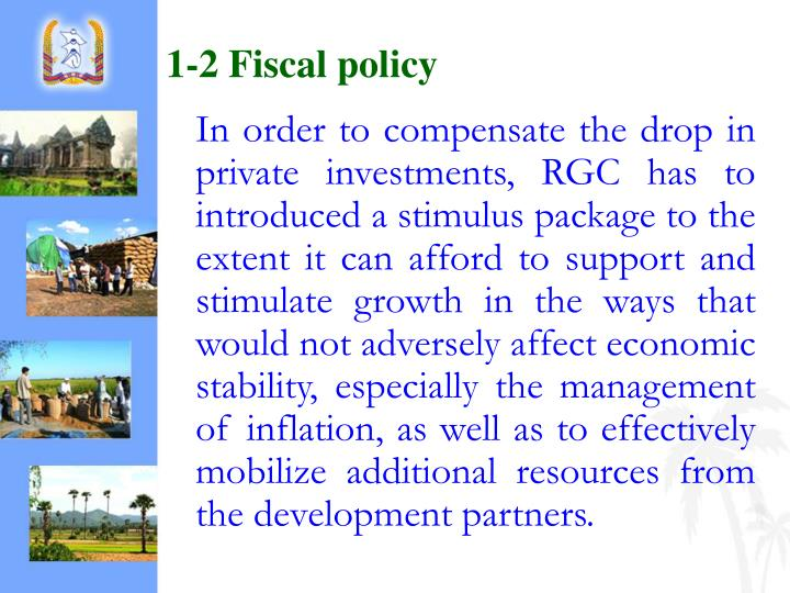 1-2 Fiscal policy