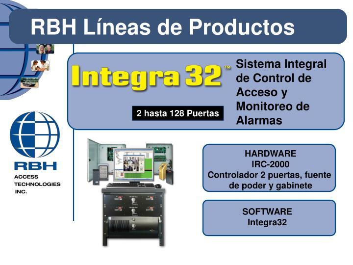 Sistema Integral de Control de Acceso y Monitoreo de Alarmas