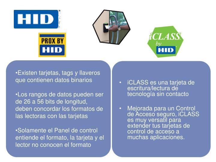 iCLASS es una tarjeta de escritura/lectura de tecnología sin contacto