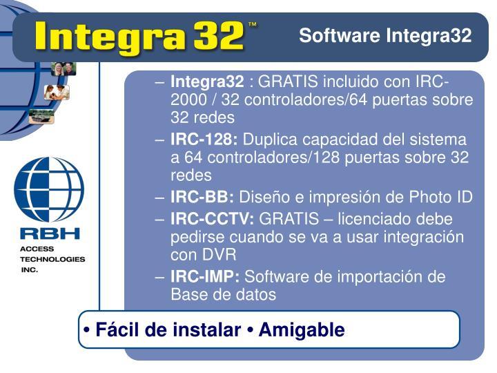 Software Integra32