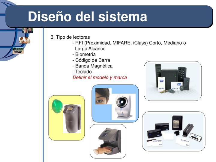 Diseño del sistema