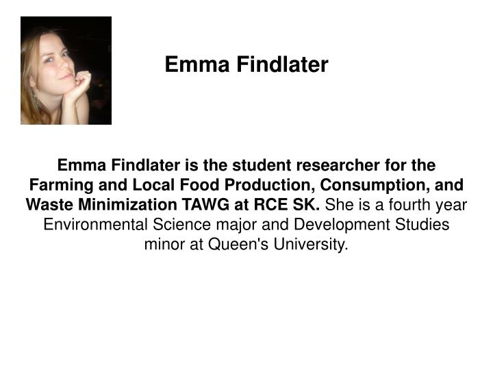 Emma Findlater
