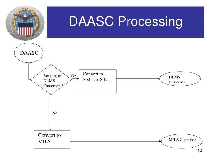 DAASC Processing