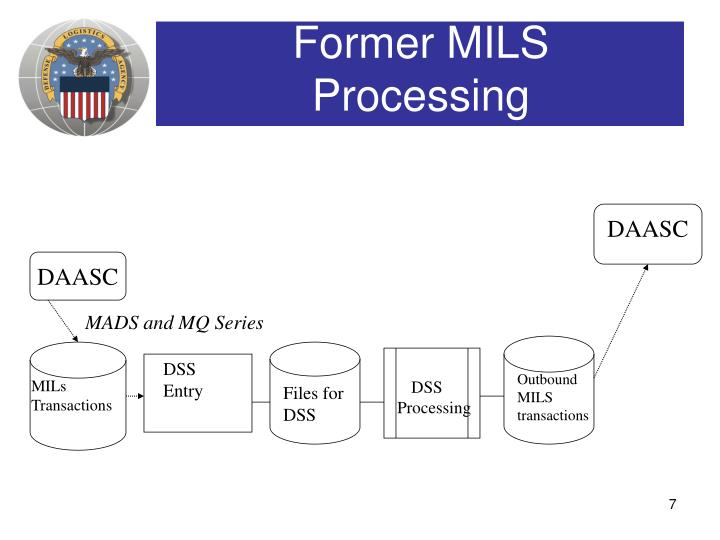 Former MILS Processing