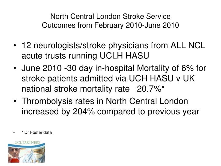 North Central London Stroke Service
