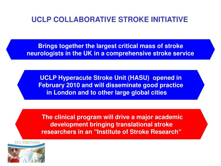 UCLP COLLABORATIVE STROKE INITIATIVE