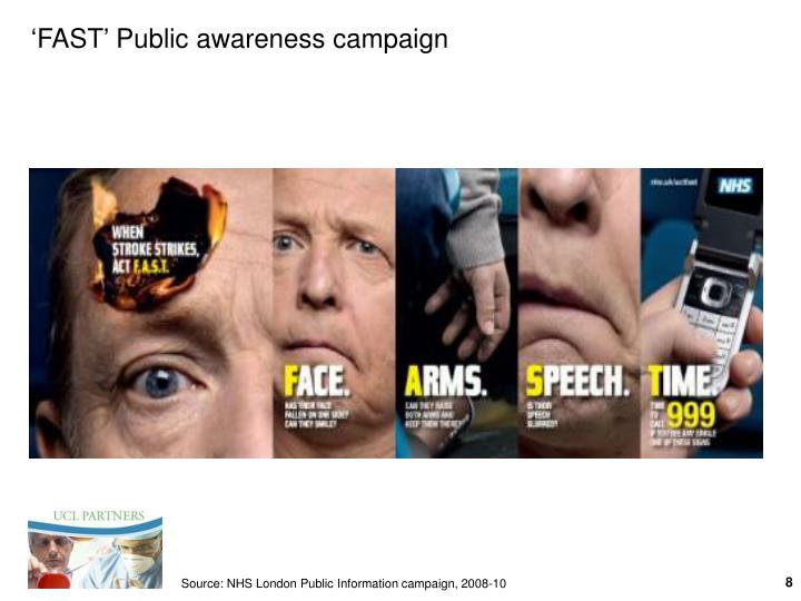'FAST' Public awareness campaign
