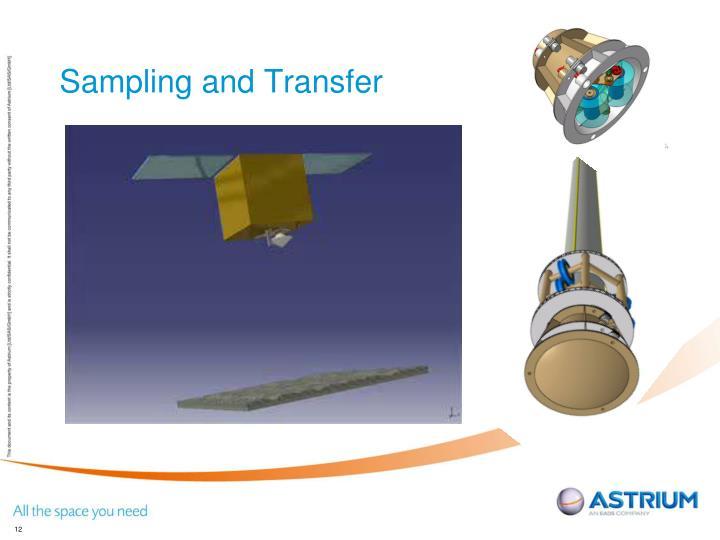 Sampling and Transfer