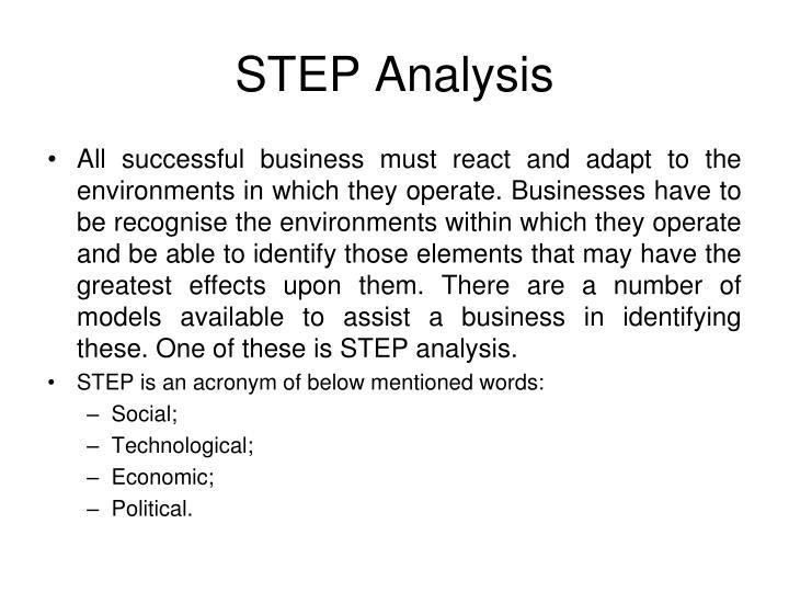 STEP Analysis
