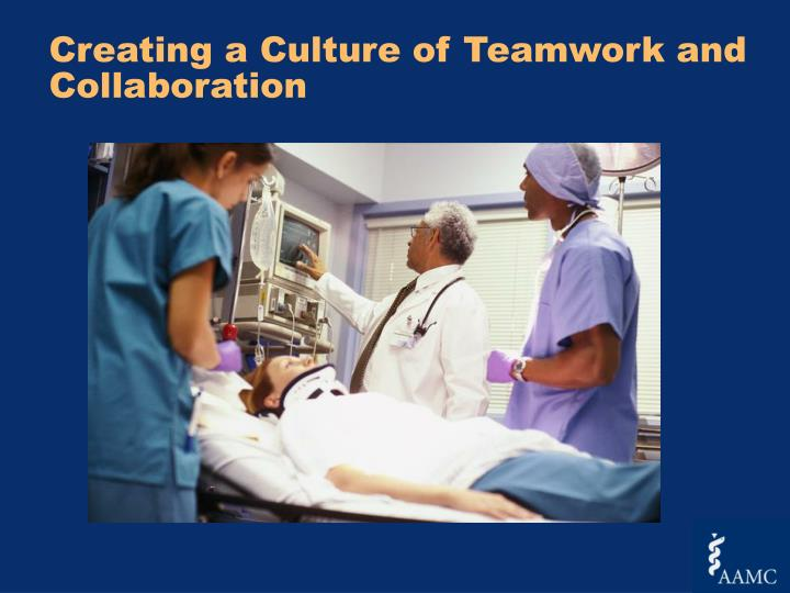 Creating a Culture of Teamwork and Collaboration