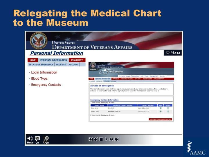 Relegating the Medical Chart