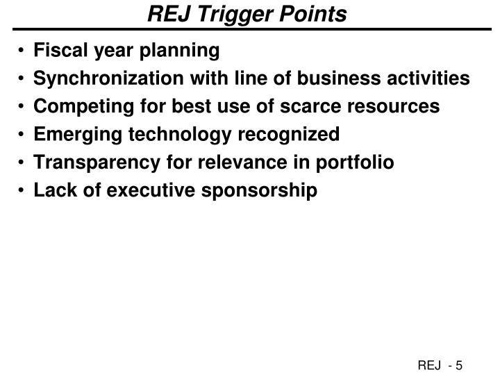 REJ Trigger Points
