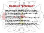 hands on practicals