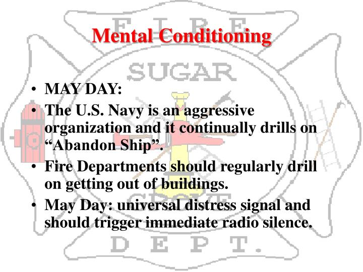 Mental Conditioning