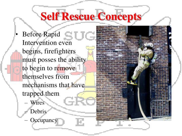 Self Rescue Concepts