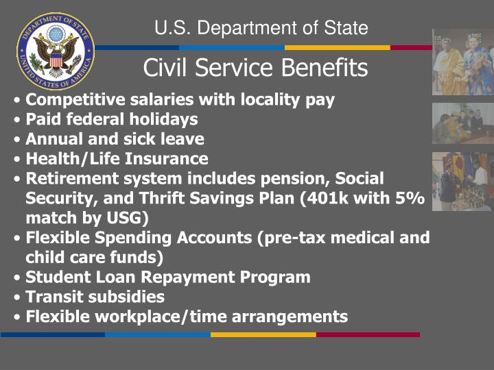 Civil Service Benefits