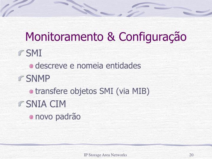 Monitoramento & Configuração