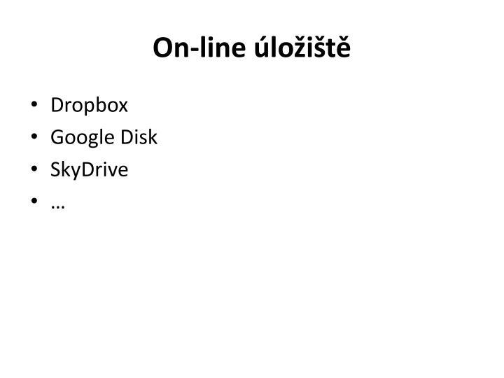 On-line úložiště