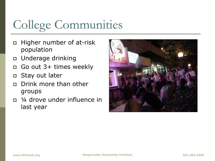 College Communities