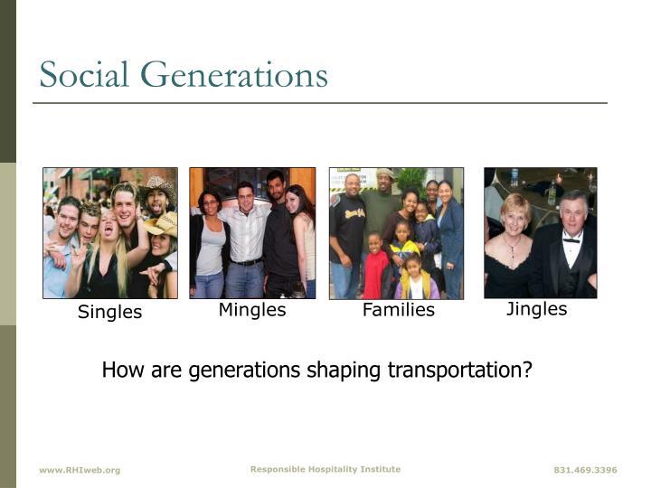 Social Generations