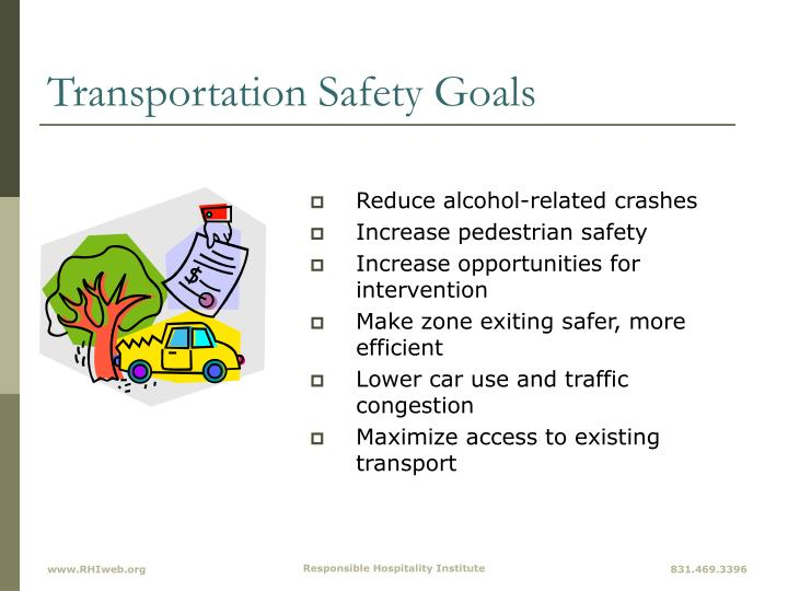 Transportation Safety Goals