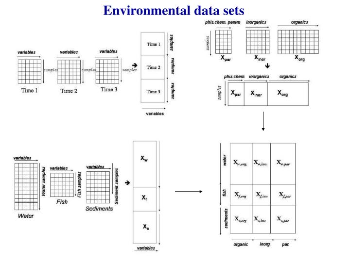 Environmental data sets