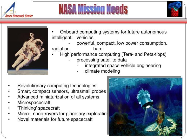 NASA Mission Needs