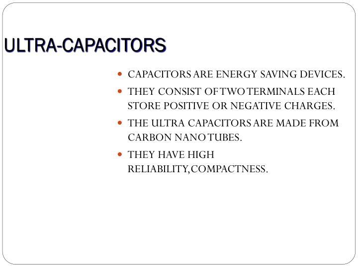 ULTRA-CAPACITORS