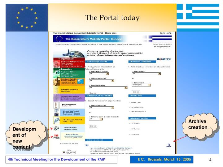 The Portal today