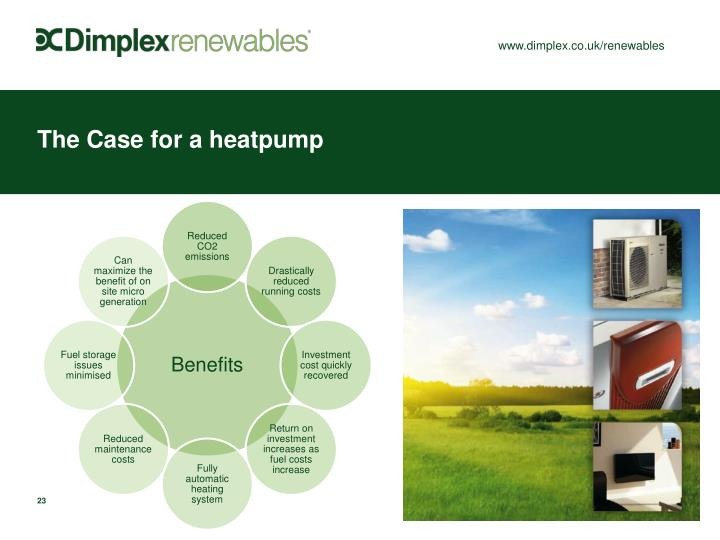 The Case for a heatpump