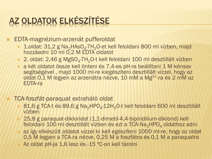 EDTA-magnézium-arzenát