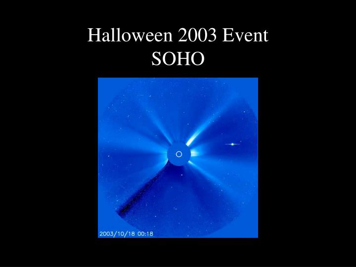 Halloween 2003 Event