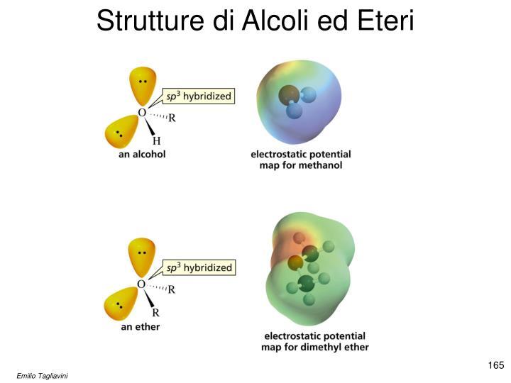 Strutture di Alcoli ed Eteri