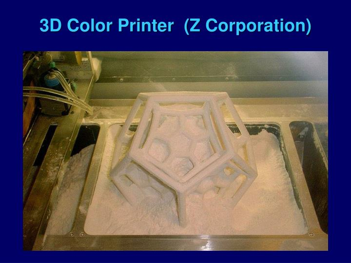 3D Color Printer