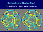 dodecahedral double shell