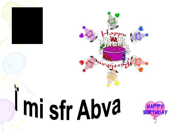 Ï mi sfr Abva