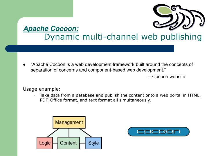 Apache Cocoon: