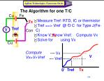the algorithm for one t c