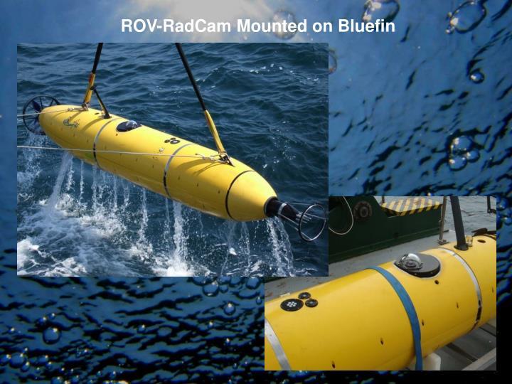 ROV-RadCam Mounted on Bluefin