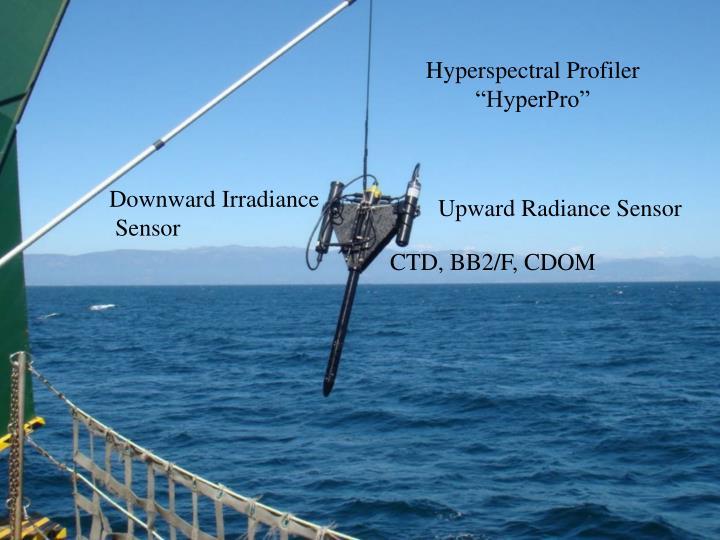 Hyperspectral Profiler