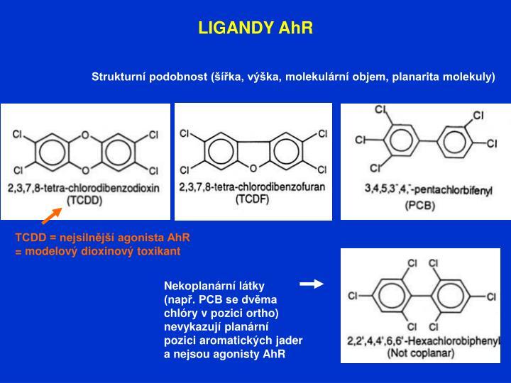 LIGANDY AhR