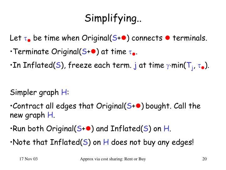 Simplifying..