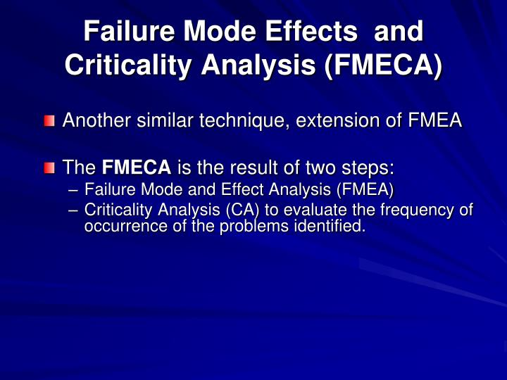 PPT - Failure Modes and Effects Analysis (FMEA) R. Larson ...