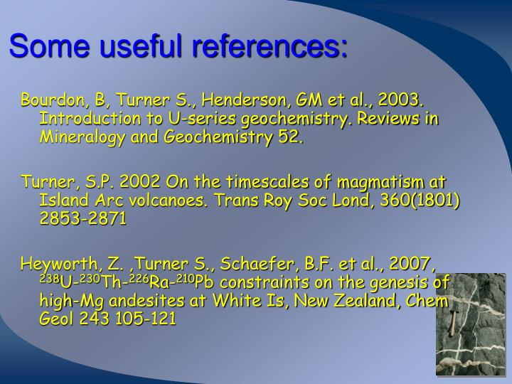 Some useful references: