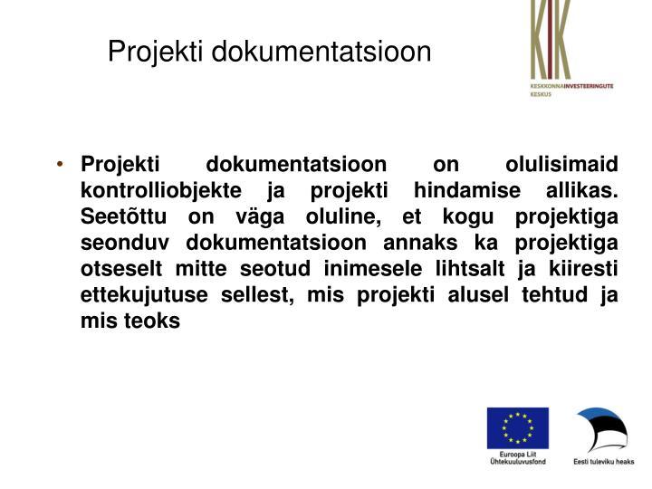 Projekti dokumentatsioon