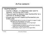 active sensors