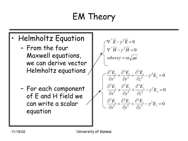 EM Theory