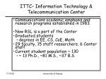 ittc information technology telecommunication center