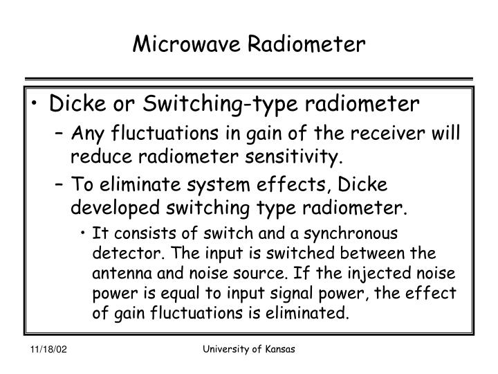 Microwave Radiometer