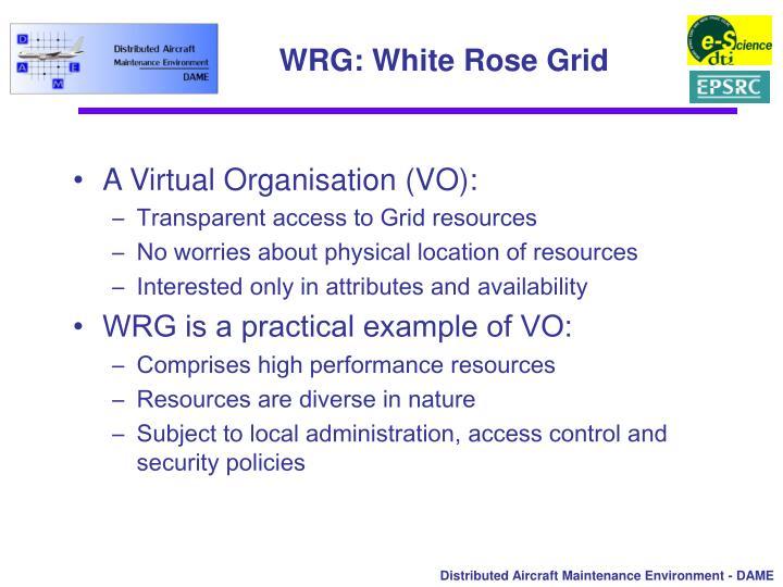 WRG: White Rose Grid